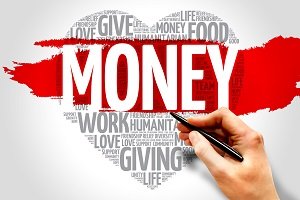 money heart 300